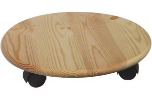 Wheeled coaster for potted plants round - 8175