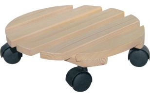 Wheeled coaster for potted plants round - 8180