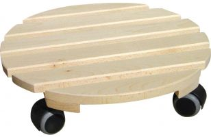 Wheeled coaster for potted plants round - 8218