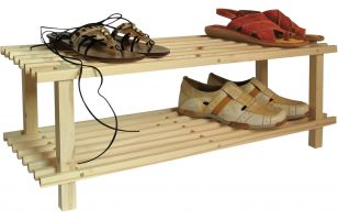Shoe -stand 2-level - 8557